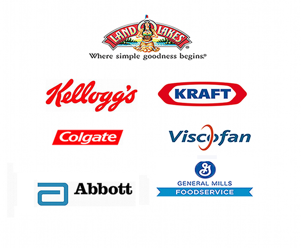 Client Logos: Food & Nutrition Industries