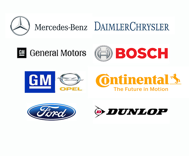 Client Logos: Auto Industry