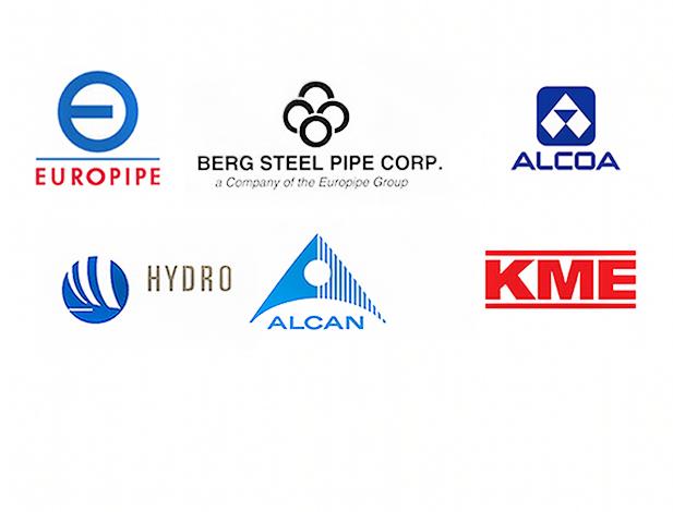 Client Logos: Metals